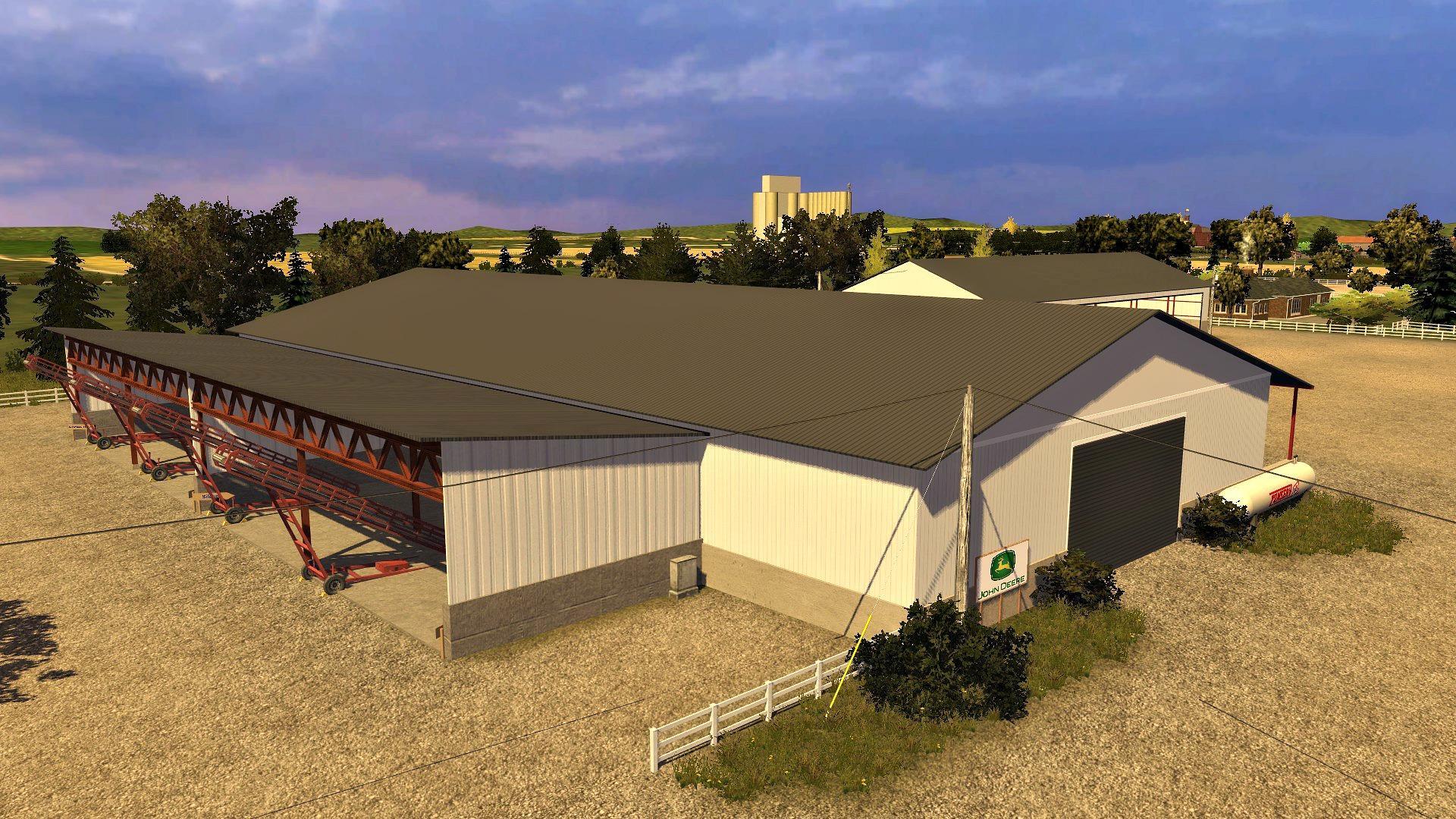 Idaho USA V Modhubus - Farming simulator 2015 us map feed cows