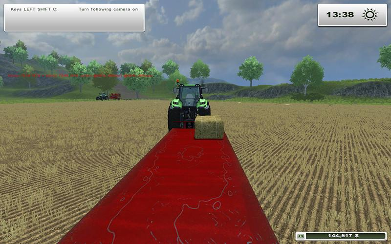 JBM Square Bale Trailer v1.0 MR