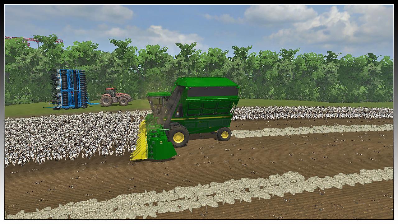 John Deere 9950 Cotton Harvester v1 1 - Modhub us