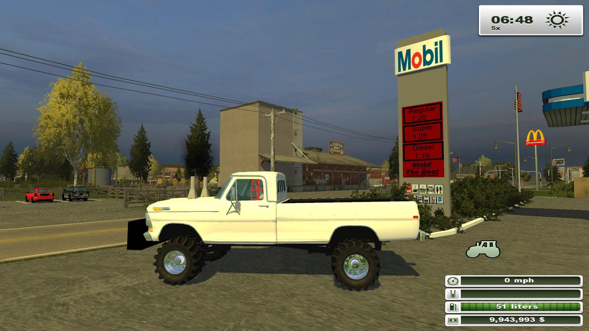 4x4 Pulling Truck Parts : Ford highboy parts