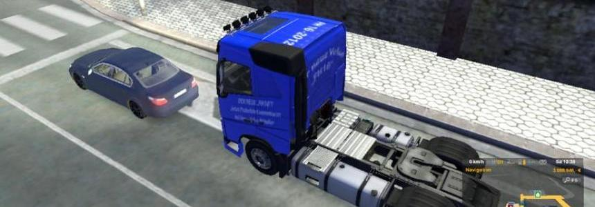 Advertising for the new Volvo FH16