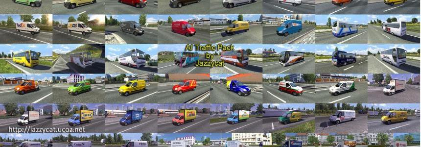AI Traffic Pack by Jazzycat 1.4