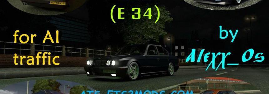 BMW E34 AI Traffic Car