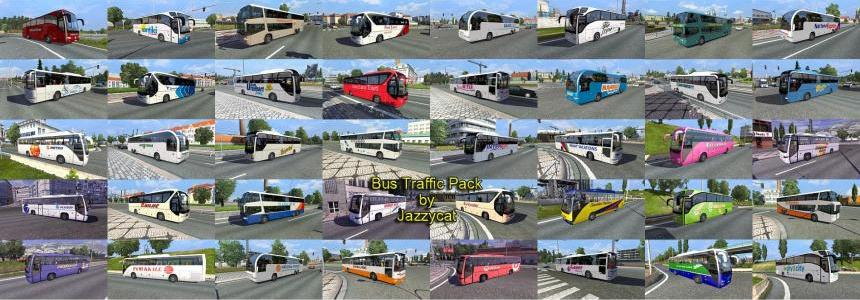 Bus traffic pack by Jazzycat v1.0
