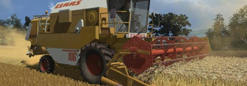 CLAAS DOMINATOR 106 PACK v1.0