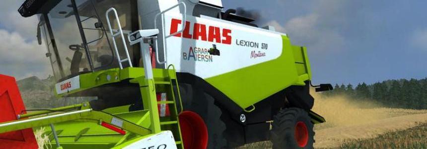 Claas Lexion 570 Montana v1.0