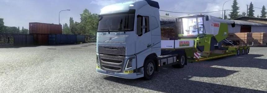 Claas Lexion 770 trailer v1.10