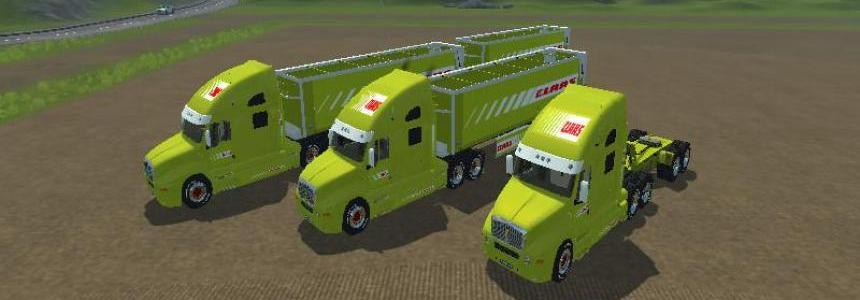 Claas Truck Trailer Pack v1.0