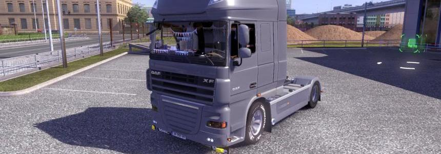 Daf XF 105.510 Jelle Schouwstra Combo Pack