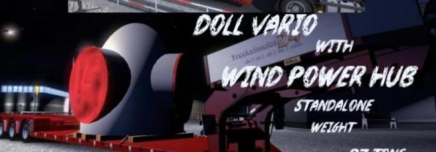 Doll Vario 4axis with Wind Power Hub v1