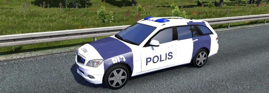 Fin Police and Ambulance AI cars