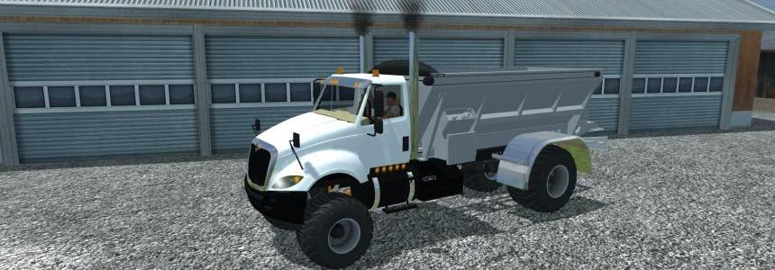 International Prostar Fertilizer Lime Spreader v1