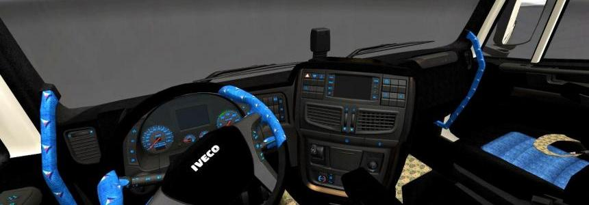 Iveco Hi Way Dark Turkish Interior