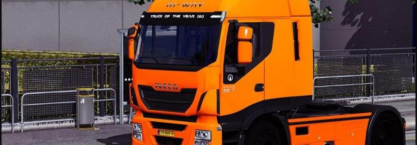 Iveco Hi-Way Plastic + wheels