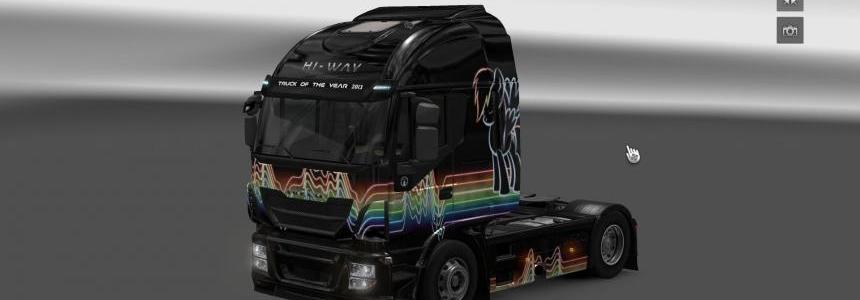 Iveco Hi Way Rainbow Dash Skin