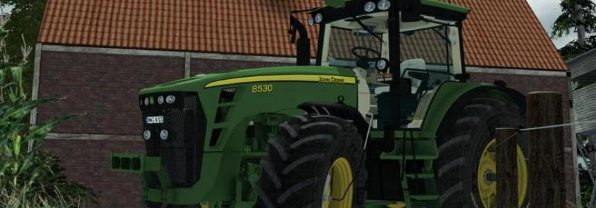 John Deere 8530 Sound Pack v1.0