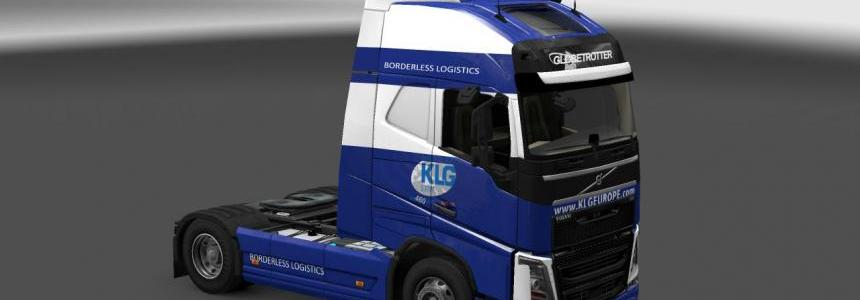 KLG skin for volvo FH 1.10x