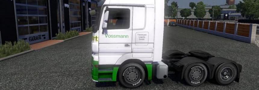MB Actros company Vossmann
