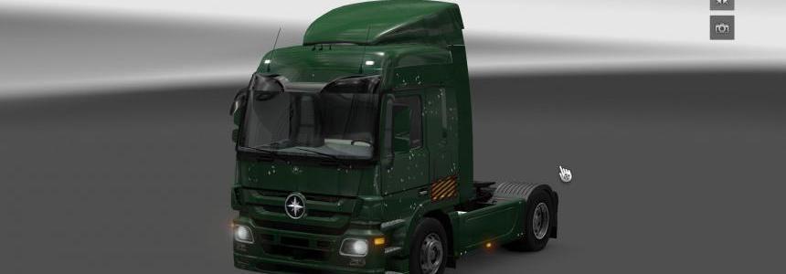 Mercedes Actros Bullets Holes Skin