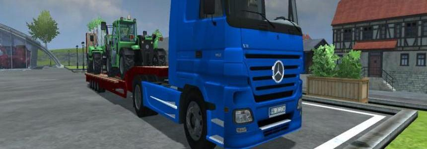 Mercedes Benz Actros v2.0 fixed