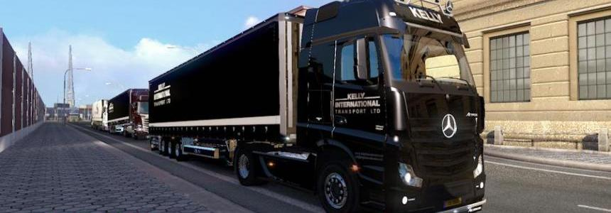 Mercedes MPIV + Trailer Kelly Int'l