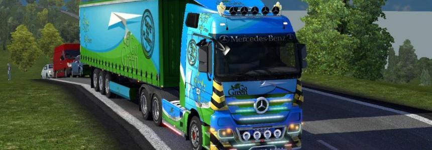 Mercedes Skin Combo Go green