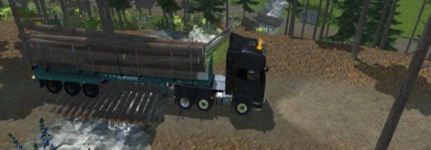 MR AWJ Logging Trailer