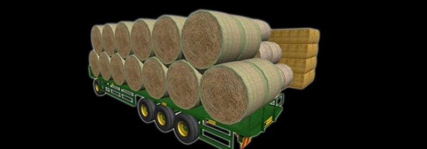 NC Engineering 41ft bale trailer v1.0