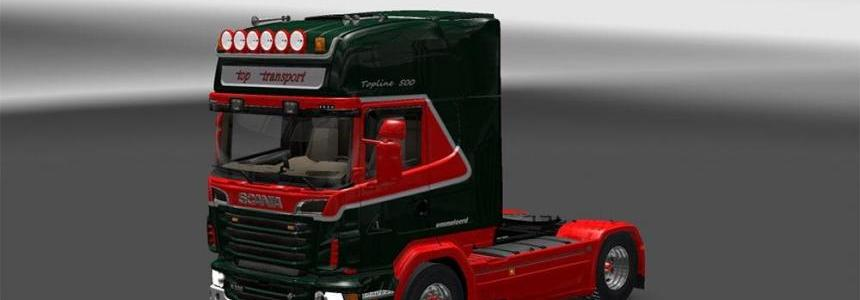 Punisher Scania R2 Top Transport Skin