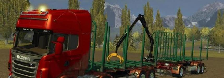 Scania R 730 manipulator v2.0