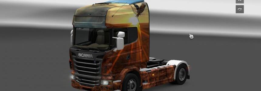 Scania R Free Spirit Skin