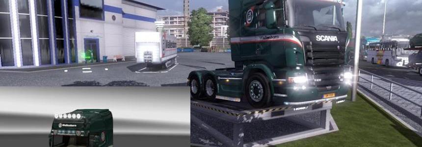 "Scania R + Trailer Universal ""Wallenborn"""