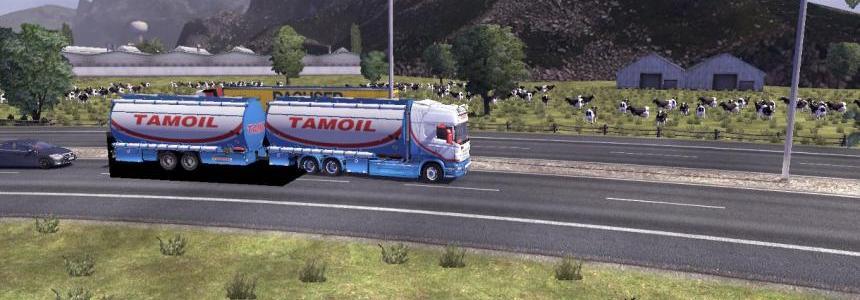 Scania R2009 Tamoil Tandem Pack