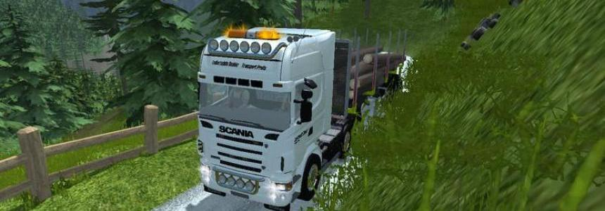 Scania R620 v1.0 WHITE NORMAL
