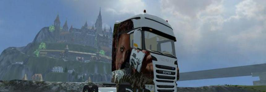 Scania R700 Evo EROTIC THEME v2.0