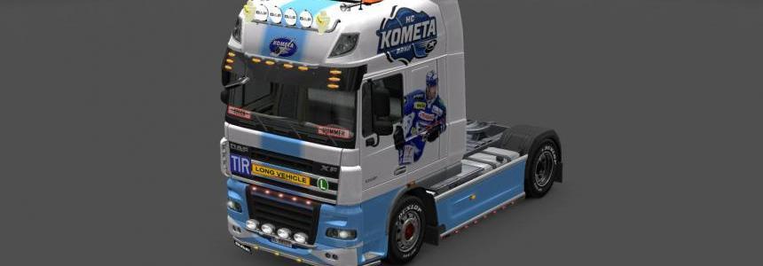 Skin Daf XF Kometa Brno 1.0