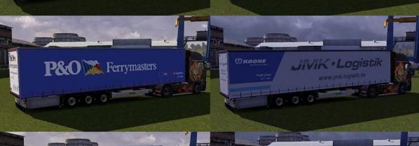Skinpacks trailer Krone Profiliner for ETS2. Release 04