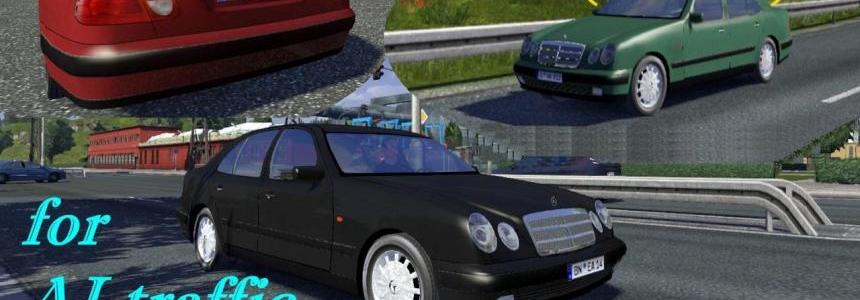 Standalone AI traffic Mercedes-Benz E-class W210