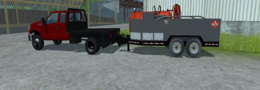 Thunder Creek Equipment fuel trailer