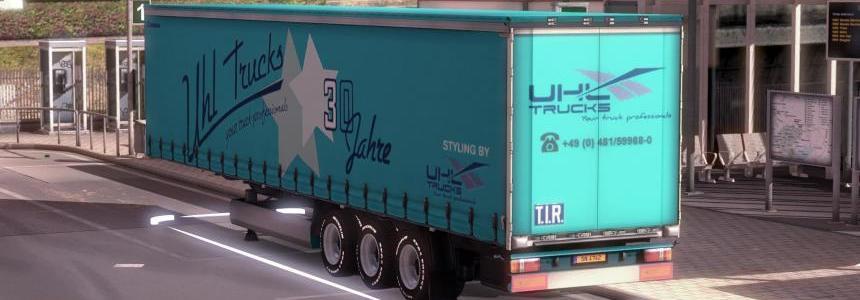 UHL Trucks KRONE ProfiLiner Trailer Skin