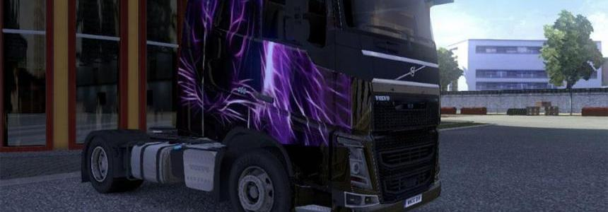 Volvo 2012 HD Purple Tiger