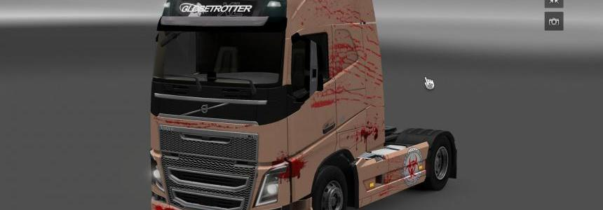 Volvo FH 2012 Bloody Skin