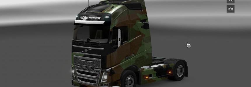Volvo FH 2012 Camo Skin