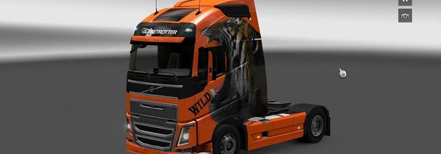 Volvo FH 2012 Wild Skin