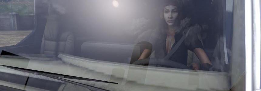 Woman Driver Jolie