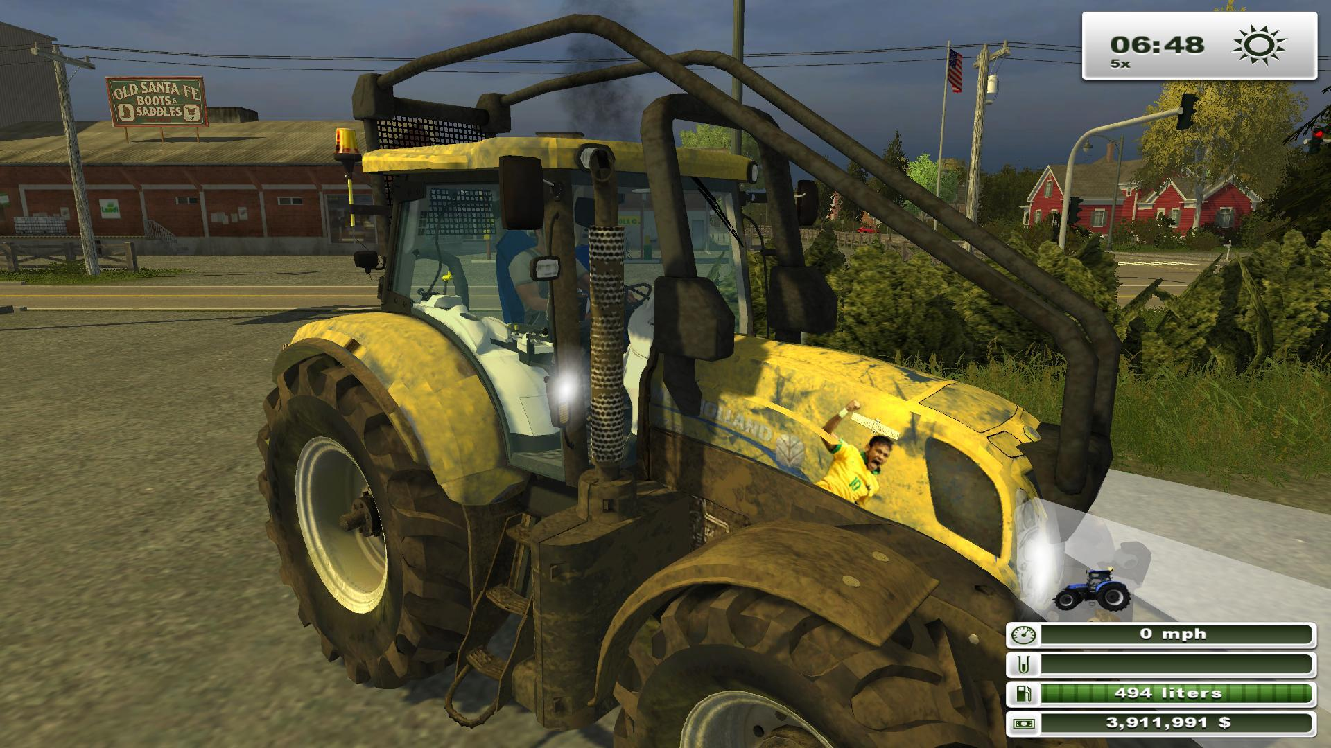 New Holland T7.210 Brazilian Edition