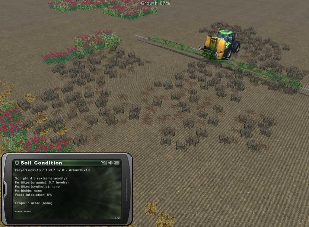 Soil management growth control v1 0 for Soil management