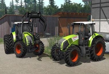 Claas Axion 820 V2.2 Final