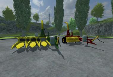 Forage Harvesting Pack v1.1