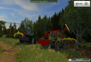 Forestry auxiliary devices v1.1